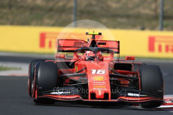 World © Octane Photographic Ltd. Formula 1 – Hungarian GP - Qualifying. Scuderia Ferrari SF90 – Charles Leclerc. Hungaroring, Budapest, Hungary. Saturday 3rd August 2019.