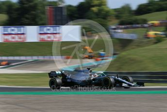 World © Octane Photographic Ltd. Formula 1 – Hungarian GP - Qualifying. Mercedes AMG Petronas Motorsport AMG F1 W10 EQ Power+ - Lewis Hamilton. Hungaroring, Budapest, Hungary. Saturday 3rd August 2019.
