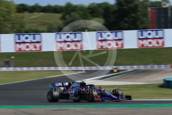 World © Octane Photographic Ltd. Formula 1 – Hungarian GP - Qualifying. Scuderia Toro Rosso STR14 – Alexander Albon. Hungaroring, Budapest, Hungary. Saturday 3rd August 2019.