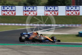 World © Octane Photographic Ltd. Formula 1 – Hungarian GP - Qualifying. McLaren MCL34 – Lando Norris. Hungaroring, Budapest, Hungary. Saturday 3rd August 2019.