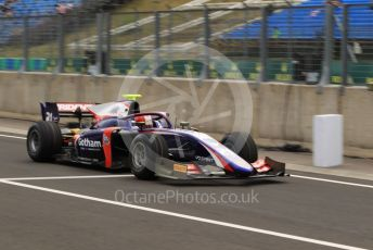 World © Octane Photographic Ltd. FIA Formula 2 (F2) – Hungarian GP - Practice. Trident - Ralph Boschung. Hungaroring, Budapest, Hungary. Friday 2nd August 2019.