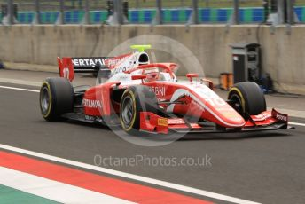 World © Octane Photographic Ltd. FIA Formula 2 (F2) – Hungarian GP - Practice. Prema Racing - Sean Gelael. Hungaroring, Budapest, Hungary. Friday 2nd August 2019.