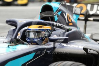 World © Octane Photographic Ltd. FIA Formula 2 (F2) – Hungarian GP - Qualifying. DAMS - Sergio Sette Camara. Hungaroring, Budapest, Hungary. Friday 2nd August 2019.