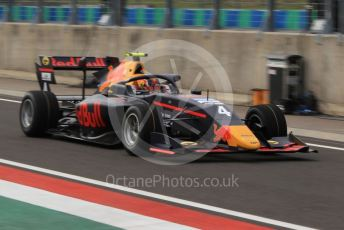 World © Octane Photographic Ltd. FIA Formula 3 (F3) – Hungarian GP – Practice. MP Motorsport - Liam Lawson. Hungaroring, Budapest, Hungary. Friday 2nd August 2019.