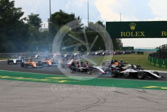 World © Octane Photographic Ltd. FIA Formula 3 (F3) – Hungarian GP – Race 1. ART Grand Prix - David Beckmann. Hungaroring, Budapest, Hungary. Saturday 3rd August 2019.