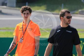 World © Octane Photographic Ltd. FIA Formula 3 (F3) – Hungarian GP – Trackwalk. Campos Racing - Sebastian Fernandez. Hungaroring, Budapest, Hungary. Thursday 1st August 2019.