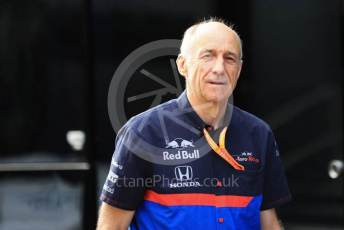 World © Octane Photographic Ltd. Formula 1 - Hungarian GP - Paddock. Franz Tost – Team Principal of Scuderia Toro Rosso. Hungaroring, Budapest, Hungary. Saturday 3rd August 2019.
