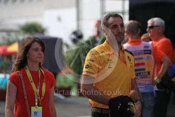 World © Octane Photographic Ltd. Formula 1 - Hungarian GP - Paddock. Cyril Abiteboul - Managing Director of Renault Sport Racing Formula 1 Team. Hungaroring, Budapest, Hungary. Saturday 3rd August 2019.