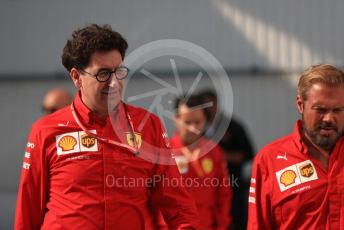 World © Octane Photographic Ltd. Formula 1 - Hungarian GP - Paddock. Mattia Binotto – Team Principal of Scuderia Ferrari. Hungaroring, Budapest, Hungary. Saturday 3rd August 2019.