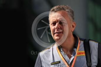 World © Octane Photographic Ltd. Formula 1 - Hungarian GP - Paddock. Mario Isola – Pirelli Head of Car Racing. Hungaroring, Budapest, Hungary. Sunday 4th August 2019.