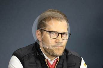 World © Octane Photographic Ltd. Formula 1 - Hungarian GP – Friday FIA Team Press Conference. Andreas Seidl, Team Principle at McLaren. Hungaroring, Budapest, Hungary. Friday 2nd August 2019.