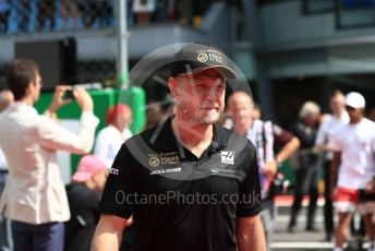 World © Octane Photographic Ltd. Formula 1 – Italian GP - Drivers Parade. Rich Energy Haas F1 Team VF19 – Kevin Magnussen. Autodromo Nazionale Monza, Monza, Italy. Sunday 8th September 2019.