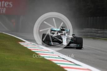 World © Octane Photographic Ltd. Formula 1 – Italian GP - Practice 1. Mercedes AMG Petronas Motorsport AMG F1 W10 EQ Power+ - Lewis Hamilton. Autodromo Nazionale Monza, Monza, Italy. Friday 6th September 2019.