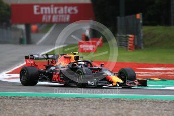 World © Octane Photographic Ltd. Formula 1 – Italian GP - Practice 1. Aston Martin Red Bull Racing RB15 – Alexander Albon. Autodromo Nazionale Monza, Monza, Italy. Friday 6th September 2019.