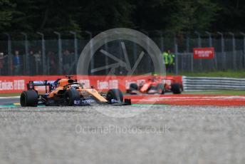 World © Octane Photographic Ltd. Formula 1 – Italian GP - Practice 1. McLaren MCL34 – Carlos Sainz. Autodromo Nazionale Monza, Monza, Italy. Friday 6th September 2019.