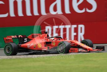 World © Octane Photographic Ltd. Formula 1 – Italian GP - Practice 1. Scuderia Ferrari SF90 – Sebastian Vettel. Autodromo Nazionale Monza, Monza, Italy. Friday 6th September 2019.