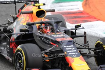World © Octane Photographic Ltd. Formula 1 – Italian GP - Practice 2. Aston Martin Red Bull Racing RB15 – Alexander Albon. Autodromo Nazionale Monza, Monza, Italy. Friday 6th September 2019.