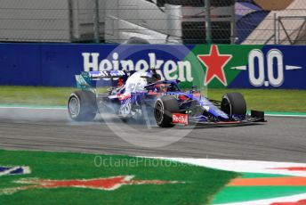 World © Octane Photographic Ltd. Formula 1 – Italian GP - Practice 2. Scuderia Toro Rosso STR14 – Daniil Kvyat. Autodromo Nazionale Monza, Monza, Italy. Friday 6th September 2019.