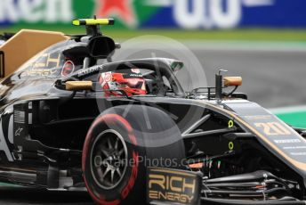 World © Octane Photographic Ltd. Formula 1 – Italian GP - Practice 2. Rich Energy Haas F1 Team VF19 – Kevin Magnussen. Autodromo Nazionale Monza, Monza, Italy. Friday 6th September 2019.