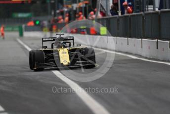 World © Octane Photographic Ltd. Formula 1 – Italian GP - Practice 2. Renault Sport F1 Team RS19 – Daniel Ricciardo. Autodromo Nazionale Monza, Monza, Italy. Friday 6th September 2019.