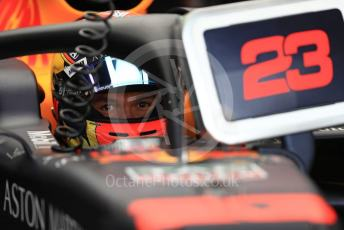 World © Octane Photographic Ltd. Formula 1 – Italian GP - Practice 3. Aston Martin Red Bull Racing RB15 – Alexander Albon. Autodromo Nazionale Monza, Monza, Italy. Saturday 7th September 2019.