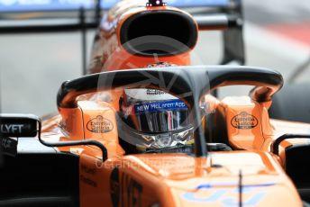 World © Octane Photographic Ltd. Formula 1 – Italian GP - Practice 3. McLaren MCL34 – Carlos Sainz. Autodromo Nazionale Monza, Monza, Italy. Saturday 7th September 2019.