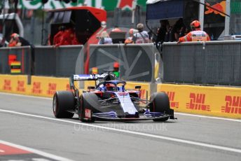 World © Octane Photographic Ltd. Formula 1 – Italian GP - Practice 3. Scuderia Toro Rosso STR14 – Daniil Kvyat. Autodromo Nazionale Monza, Monza, Italy. Saturday 7th September 2019.