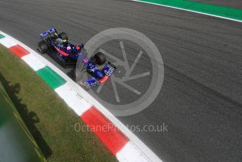 World © Octane Photographic Ltd. Formula 1 – Italian GP - Qualifying. Scuderia Toro Rosso - Pierre Gasly. Autodromo Nazionale Monza, Monza, Italy. Saturday 7th September 2019.