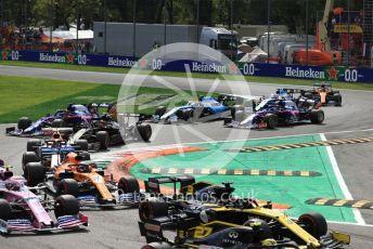 World © Octane Photographic Ltd. Formula 1 – Italian GP - Race. McLaren MCL34 – Carlos Sainz. Autodromo Nazionale Monza, Monza, Italy. Sunday 8th September 2019.