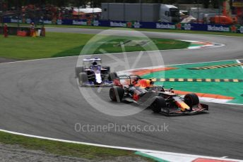 World © Octane Photographic Ltd. Formula 1 – Italian GP - Race. Aston Martin Red Bull Racing RB15 – Alexander Albon. Autodromo Nazionale Monza, Monza, Italy. Sunday 8th September 2019.