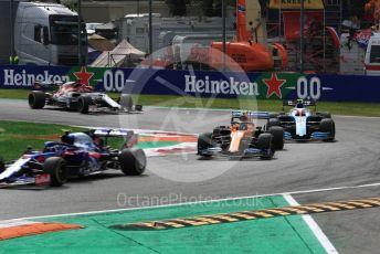 World © Octane Photographic Ltd. Formula 1 – Italian GP - Race. McLaren MCL34 – Lando Norris. Autodromo Nazionale Monza, Monza, Italy. Sunday 8th September 2019.