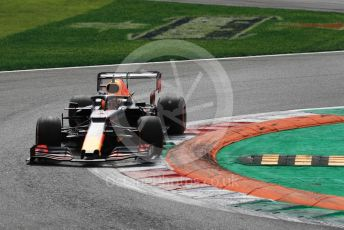 World © Octane Photographic Ltd. Formula 1 – Italian GP - Race. Aston Martin Red Bull Racing RB15 – Max Verstappen. Autodromo Nazionale Monza, Monza, Italy. Sunday 8th September 2019.
