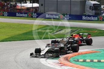 World © Octane Photographic Ltd. Formula 1 – Italian GP - Race. Rich Energy Haas F1 Team VF19 – Kevin Magnussen. Autodromo Nazionale Monza, Monza, Italy. Sunday 8th September 2019.