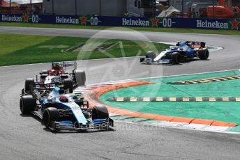 World © Octane Photographic Ltd. Formula 1 – Italian GP - Race. ROKiT Williams Racing FW42 – Robert Kubica. Autodromo Nazionale Monza, Monza, Italy. Sunday 8th September 2019.