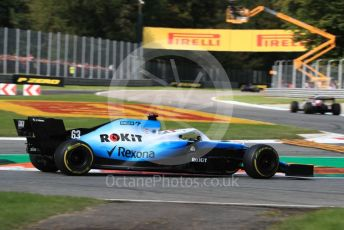World © Octane Photographic Ltd. Formula 1 – Italian GP - Race. ROKiT Williams Racing FW 42 – George Russell. Autodromo Nazionale Monza, Monza, Italy. Sunday 8th September 2019.