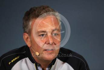 World © Octane Photographic Ltd. Formula 1 - Italian GP - Friday FIA Team Press Conference. Mario Isola – Pirelli Head of Car Racing. Autodromo Nazionale Monza, Monza, Italy. Friday 6th September 2019.