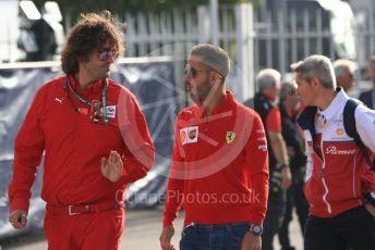 World © Octane Photographic Ltd. Formula 1 - Italian GP - Paddock. Antonio Fuoco. Autodromo Nazionale Monza, Monza, Italy. Saturday 7th September 2019.