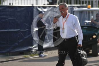 World © Octane Photographic Ltd. Formula 1 - Italian GP - Paddock. Chase Carey - Chief Executive Officer of the Formula One Group. Autodromo Nazionale Monza, Monza, Italy. Saturday 7th September 2019.