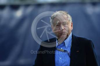 World © Octane Photographic Ltd. Formula 1 - Italian GP - Paddock. Jean Todt – President of FIA. Autodromo Nazionale Monza, Monza, Italy. Sunday 8th September 2019.