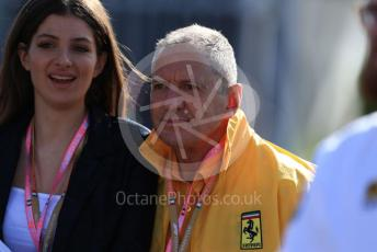 World © Octane Photographic Ltd. Formula 1 – Italian GP - Paddock. Jody Scheckter. Autodromo Nazionale Monza, Monza, Italy. Sunday 8th September 2019.