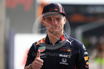 World © Octane Photographic Ltd. Formula 1 – Italian GP - Paddock. Aston Martin Red Bull Racing RB15 – Max Verstappen. Autodromo Nazionale Monza, Monza, Italy. Thursday 4th September 2019.