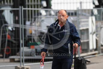World © Octane Photographic Ltd. Formula 1 - Italian GP - Paddock. Frederic Vasseur – Team Principal and CEO of Sauber Motorsport AG. Autodromo Nazionale Monza, Monza, Italy. Thursday 4th September 2019.