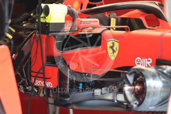 World © Octane Photographic Ltd. Formula 1 – Italian GP - Pit Lane. Scuderia Ferrari SF90. Autodromo Nazionale Monza, Monza, Italy. Thursday 4th September 2019.