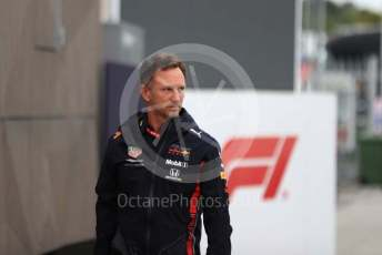 World © Octane Photographic Ltd. Formula 1 - Italian GP - Paddock. Christian Horner - Team Principal of Red Bull Racing. Autodromo Nazionale Monza, Monza, Italy. Friday 6th September 2019.