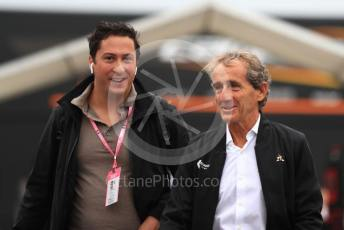 World © Octane Photographic Ltd. Formula 1 - Italian GP - Paddock. Alain Prost – Non-Executive Director Renault Sport Formula 1 Team. Autodromo Nazionale Monza, Monza, Italy. Friday 6th September 2019.