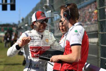 World © Octane Photographic Ltd. Formula 1 – Japanese GP - Grid. Alfa Romeo Racing C38 – Antonio Giovinazzi. Suzuka Circuit, Suzuka, Japan. Sunday 13th October 2019.