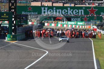 World © Octane Photographic Ltd. Formula 1 – Japanese GP - Grid. Suzuka Circuit, Suzuka, Japan. Sunday 13th October 2019.