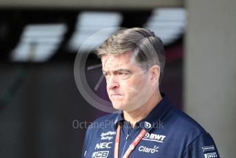 World © Octane Photographic Ltd. Formula 1 - Singapore GP - Paddock. Andy Stevenson – Sporting Director at SportPesa Racing Point. Suzuka Circuit, Suzuka, Japan. Thursday 10th October 2019.