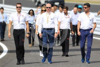 World © Octane Photographic Ltd. Formula 1 – Japanese GP - Paddock. F1 and FIA trackwalk. Suzuka Circuit, Suzuka, Japan. Thursday 10th October 2019.