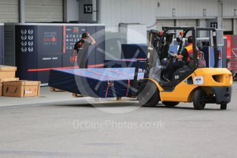 World © Octane Photographic Ltd. Formula 1 – Japanese GP - Paddock. Red Bull Racing new parts delivery. Suzuka Circuit, Suzuka, Japan. Thursday 10th October 2019.